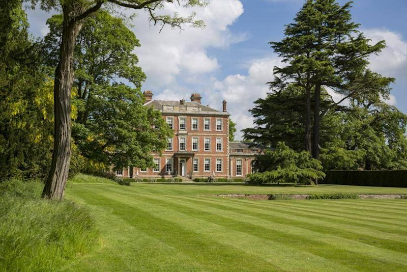 The National Trust property was built in the style of Hampton Court (Middlethorpe Hall)