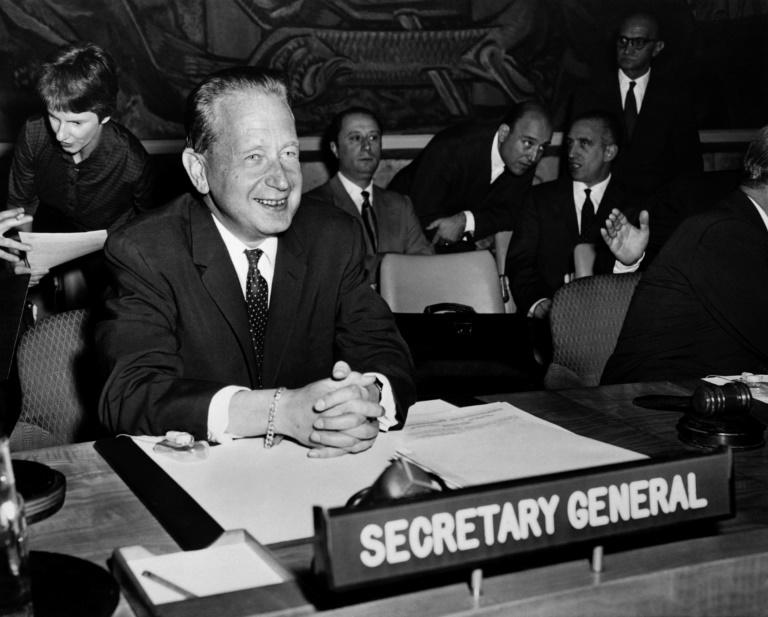 Only the second secretary-general in UN history, Dag Hammarskjold was killed along with 15 others on September 18, 1961 when their plane crashed in what was then known as Northern Rhodesia