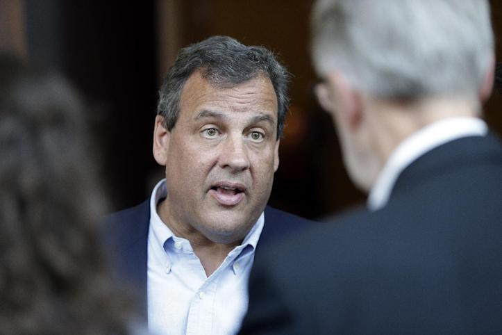 New Jersey Gov. Chris Christie (AP Photo/Mark Humphrey)
