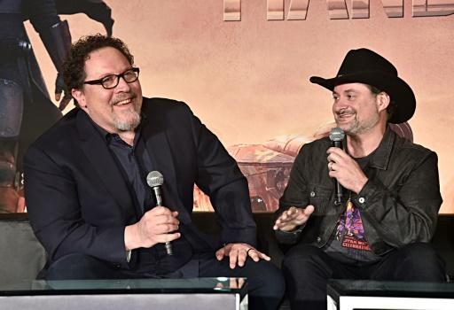 "Executive producers Jon Favreau and Dave Filoni created ""The Mandalorian"" for Disney+ streaming platform"