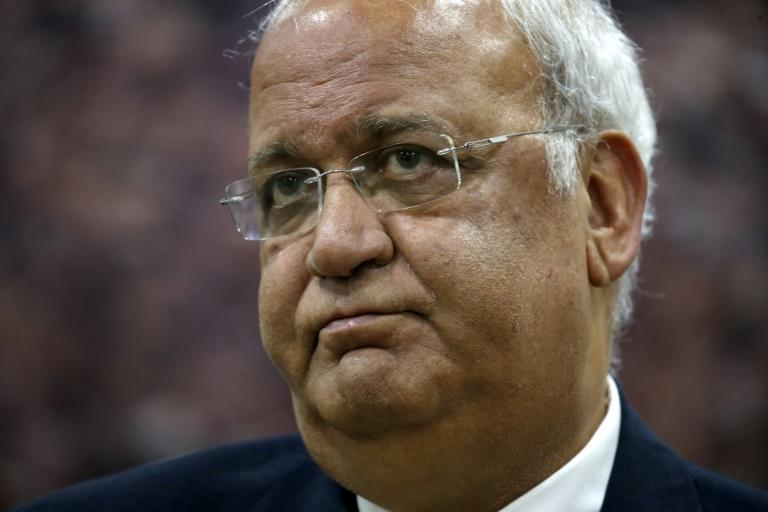 Palestine Liberation Organisation secretary general Saeb Erekat, who has died of complications from Covid-19, was the public face of successive rounds of peace talks with Israel since the early 1990s