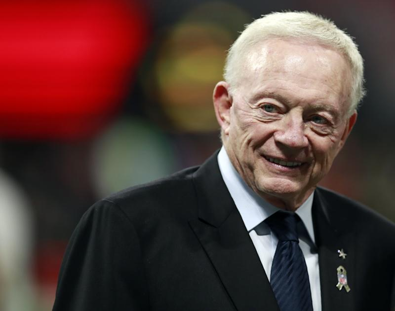 Dallas Cowboys owner Jerry Jones defended Thursday night NFL games. (AP)