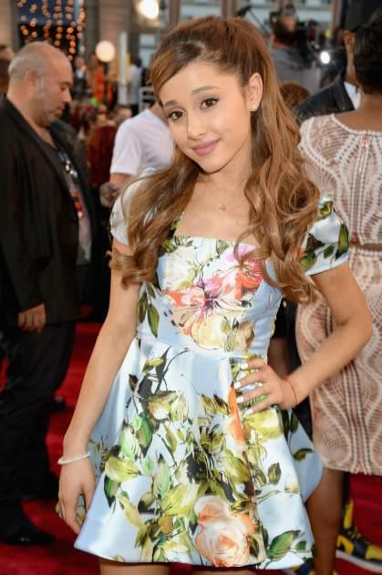 Ariana Grande attends the 2013 MTV Video Music Awards at the Barclays Center on August 25, 2013 in the Brooklyn borough of New York City -- FilmMagic