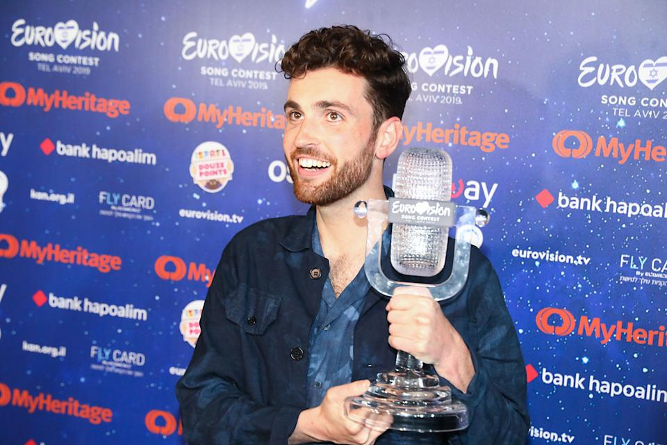 Duncan Laurence is still the reigning Eurovision champion, following his success in Tel Aviv in 2019 (Photo: Guy Prives via Getty Images)