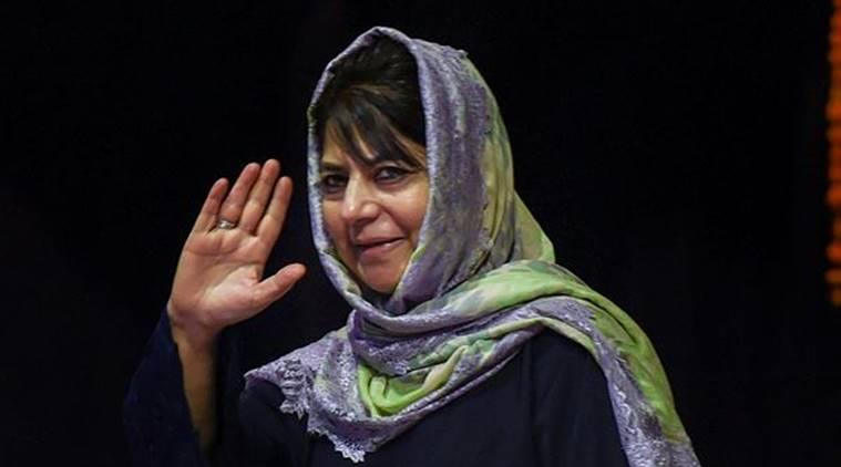 Under arrest Mehbooba Mufti sends message to PDP MPs: Quit Rajya Sabha