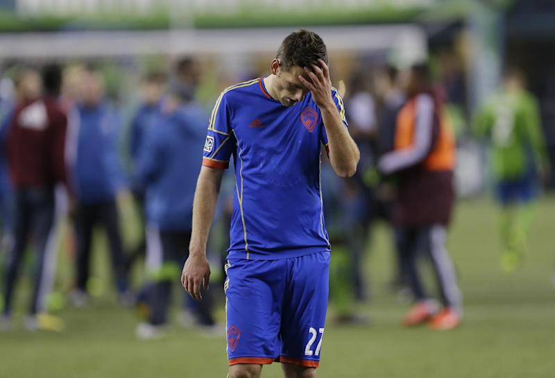 Rapids' O'Neill suspended; Crew's Anor wins appeal