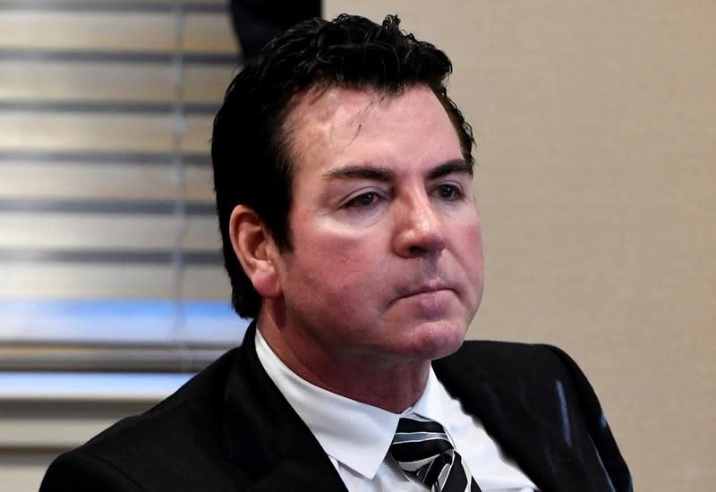 Papa John's says founder resigned as chairman of the board.
