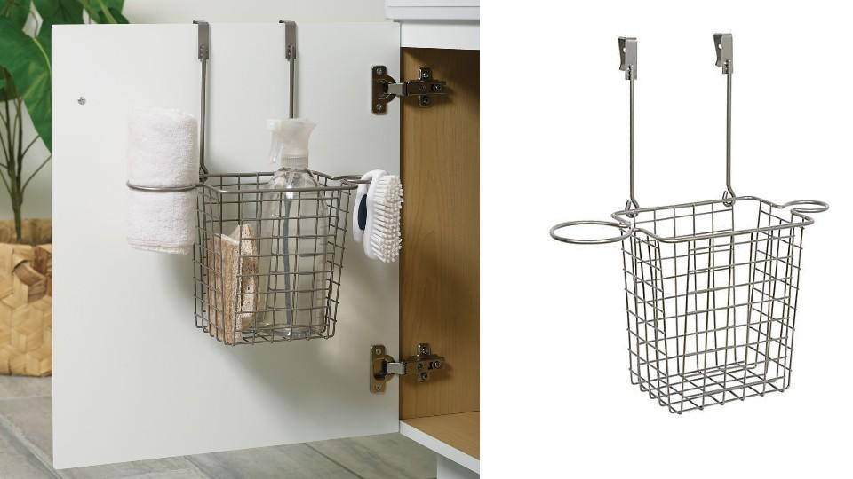 Squared Away™ Over the Cabinet Styling Caddy - Bed Bath & Beyond, $20