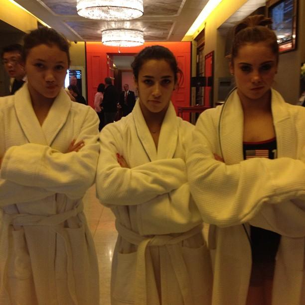 @aly_raisman The pools closed... We're NOT impressed.