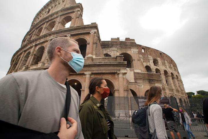 Italy tightens restrictions on unvaccinated people (Copyright 2020 The Associated Press. All rights reserved)