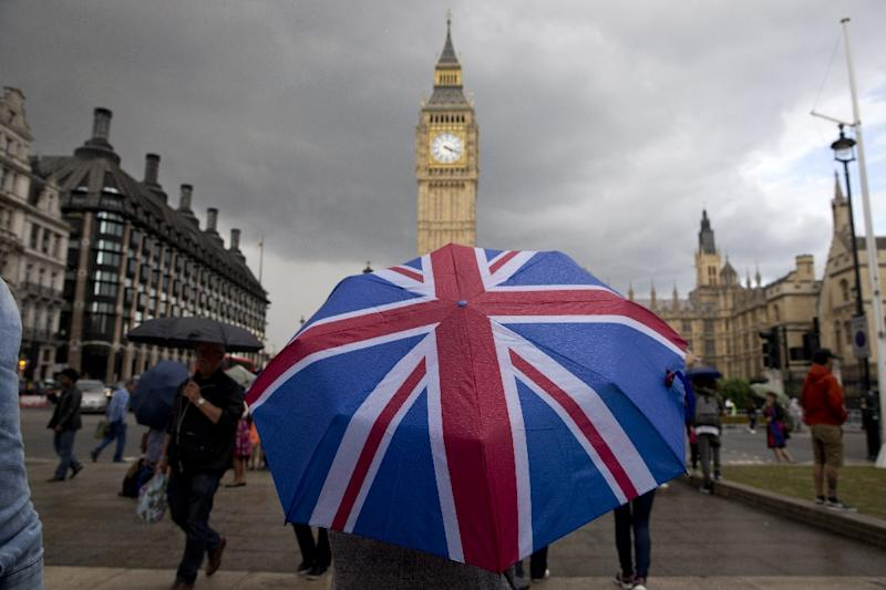 Britain is the first country to seek a divorce from the European Union, just days after the EU's 60th birthday (AFP Photo/JUSTIN TALLIS)