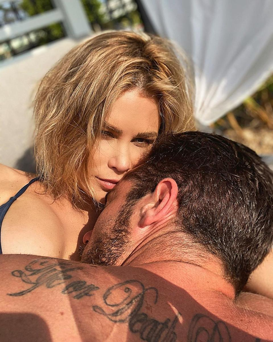 Bachelor in Paradise stars Megan Marx and Jake Ellis appear to be very much 'back on'. Photo: Instagram/jakeellis86.