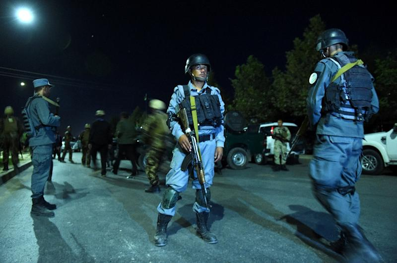 Blast, gunshots heard at American University in Kabul