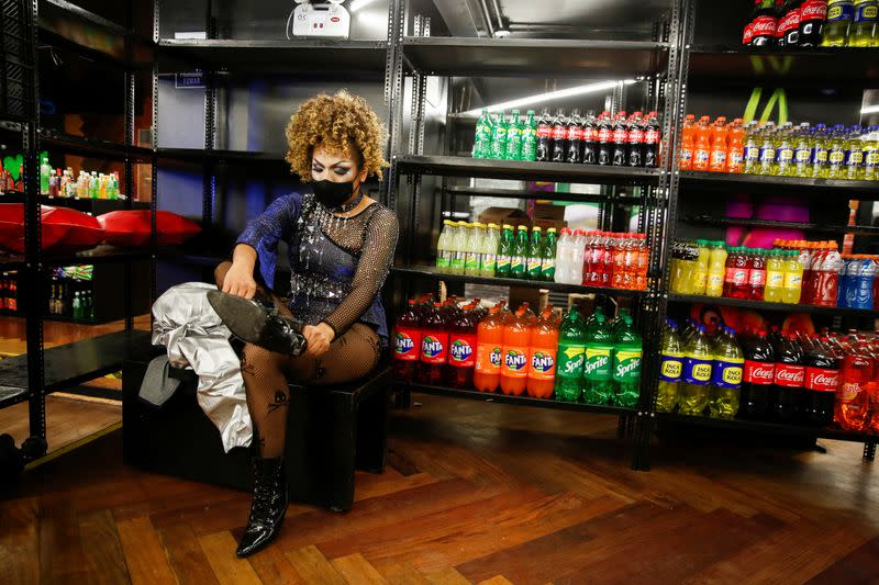 Peru's biggest LGBTQ nightclub reopens as grocery store to survive pandemic