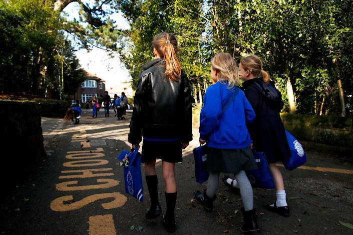 The government is aiming for schools to begin re-opening from June 1st in a phased approach: Getty Images