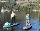"""<p>Melissa Joan Hart kicked off her holiday with a paddleboard session with her son, Mason. """"Crack of dawn paddle boarding with my eldest,"""" she shared. """"Happy Independence Day!!"""" (Photo: Melissa Joan Hart <a rel=""""nofollow noopener"""" href=""""https://www.instagram.com/p/BWIPJu1hOTk/?taken-by=melissajoanhart"""" target=""""_blank"""" data-ylk=""""slk:via Instagram"""" class=""""link rapid-noclick-resp"""">via Instagram</a>)<br><br></p>"""