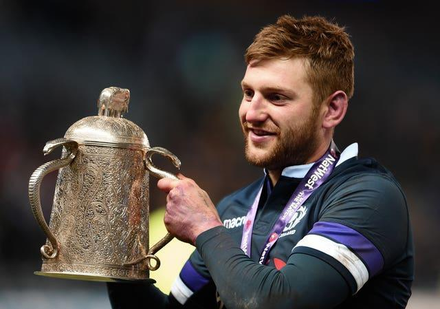 Finn Russell is a Scotland stand-out