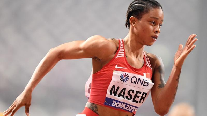 Salwa Eid Naser, world 400m champion, provisionally banned
