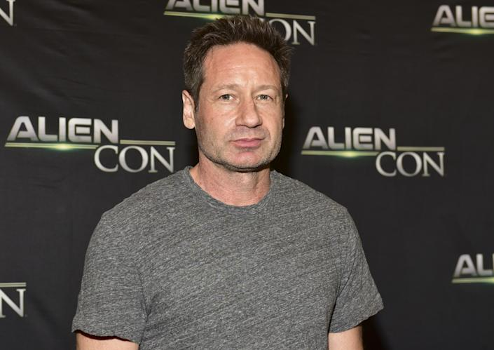 David Duchovny attends AlienCon on June 17, 2018. (Photo by Rodin Eckenroth/Getty Images)