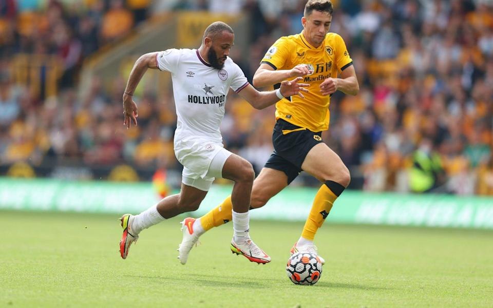 Bryan Mbeumo of Brentford - Catherine Ivill/Getty Images