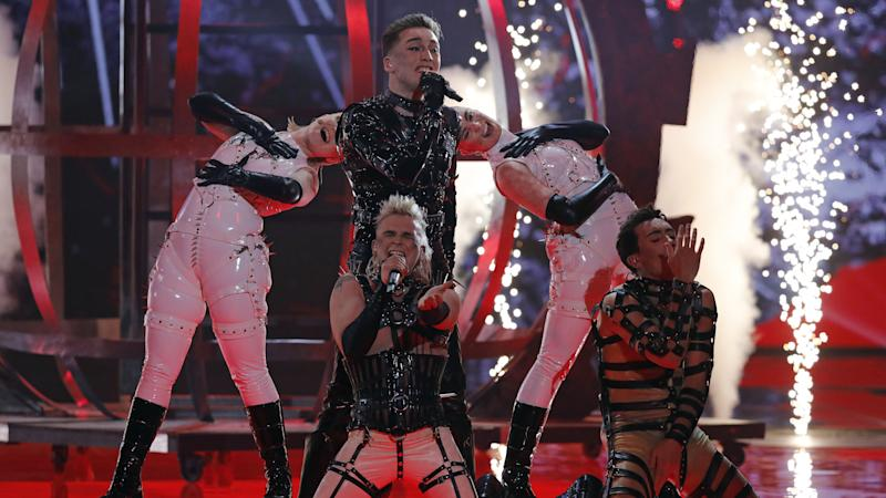Eurovision 2019: How a night of banter and bondage played out on Twitter