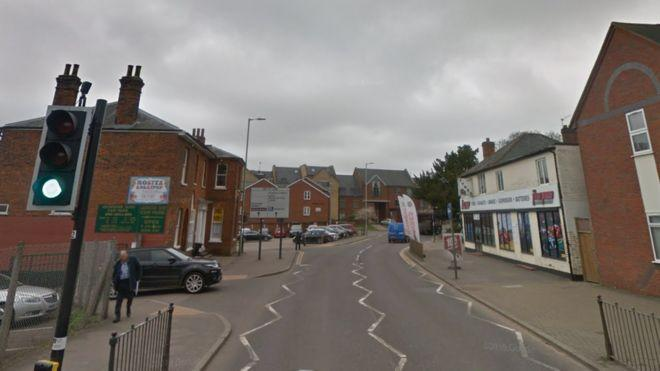 A group of teenagers were arrested for coughing on an elderly couple in Hitchin, Herts