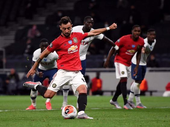Bruno Fernandes has rejuvenated United (PA)