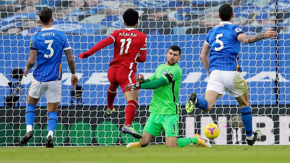 FBL-ENG-PR-BRIGHTON-LIVERPOOL | KIRSTY WIGGLESWORTH/Getty Images