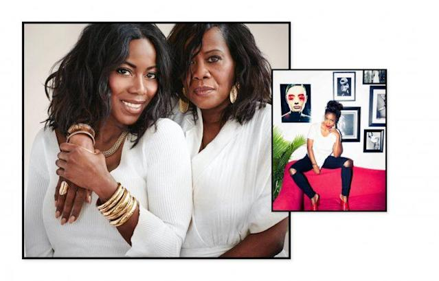 """<strong><a href=""""https://www.instagram.com/tiffanyreid/"""" rel=""""nofollow noopener"""" target=""""_blank"""" data-ylk=""""slk:Tiffany Reid"""" class=""""link rapid-noclick-resp"""">Tiffany Reid</a>, senior fashion market editor at <a href=""""http://www.cosmopolitan.com/"""" rel=""""nofollow noopener"""" target=""""_blank"""" data-ylk=""""slk:Cosmopolitan Magazine"""" class=""""link rapid-noclick-resp"""">Cosmopolitan Magazine</a>(photo: courtesy of John Hardy)</strong> <br> <b>Best style advice from mom:</b> <br>Be your own person, never copy someone else's style, and always look put together from head to toe, no matter where you are going). That includes hair and makeup. (Seriously, even if I am running to the corner store she says you never know who you will run into.) <br> <b>Mother's Day gift for mom:</b> <br>Earrings from <a href=""""https://www.johnhardy.com/"""" rel=""""nofollow noopener"""" target=""""_blank"""" data-ylk=""""slk:John Hardy"""" class=""""link rapid-noclick-resp"""">John Hardy </a>and a canvas of this photo of the two of us from the campaign to celebrate, and act as a reminder of this moment. My mom is my biggest supporter and always is trying to figure out what it is exactly that I do, so having her on set with me this day was such an eye opening experience for her. It obviously meant so much to me. (Not to mention the final product came out BEYOND WORDS!)"""