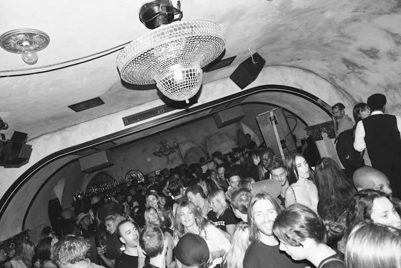 The scene from inside the Grandlife's This Is New York Party at the Roxy Hotel, during New York Fashion Week.