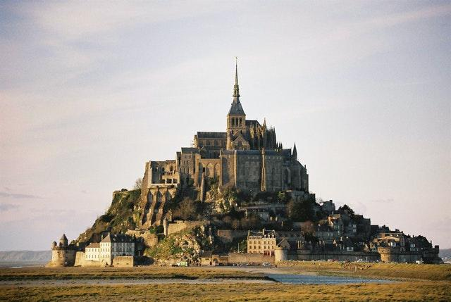 Mont St Michel, on the north coast of France (Martin Keene/PA)