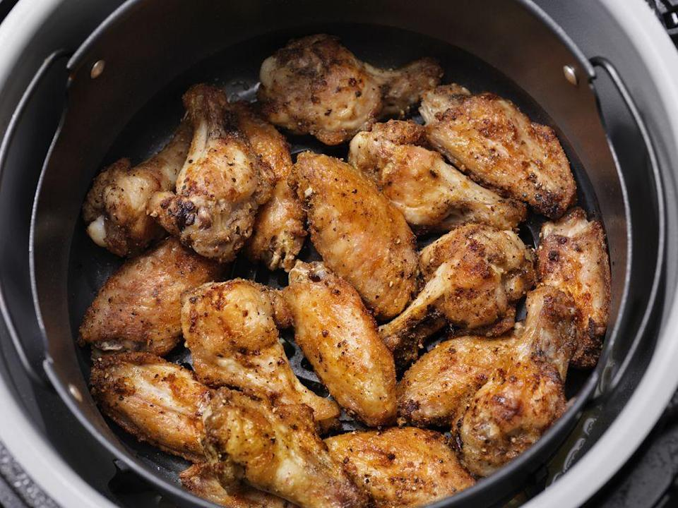 <p>Make some of your favorite meals more healthy instantly just by switching the way you cook them. Bake instead of sauteeing - baking or roasting uses less oil and is therefore healthier. Instead of traditional frying, use an air fryer, which also uses less oils and fat and can actually be a faster process. </p><p>Make big batches of food in a slow cooker so that it all cooks at once and over the course of the day while you're doing other things. Instant pots and rice cookers can also make your life easier and healthier.</p>