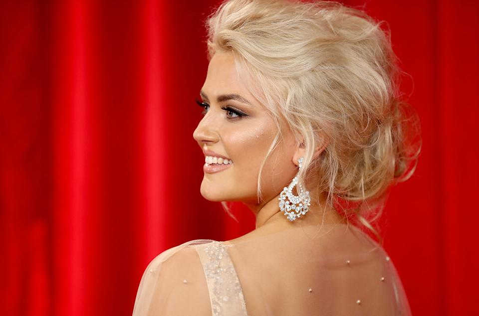 Lucy Fallon attends The British Soap Awards at The Lowry Theatre on June 3, 2017 in Manchester, England. The Soap Awards will be aired on June 6 on ITV at 8pm.  (Photo by Mike Marsland/Mike Marsland/WireImage)