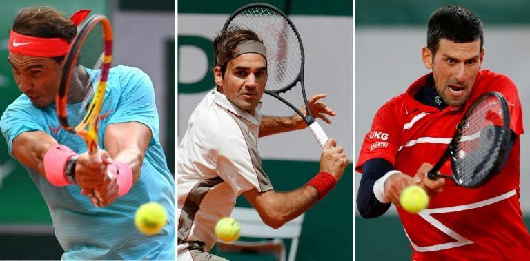 Rafael Nadal, Roger Federer and Novak Djokovic are on collision course in the French Open