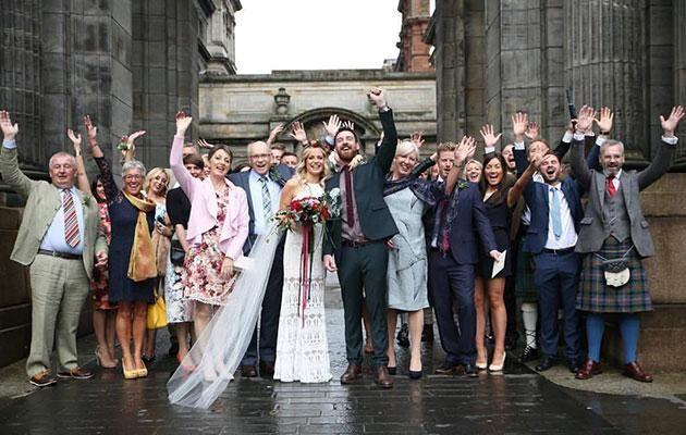 The pair hired a wedding photographer for two hours. Photo: Facebook