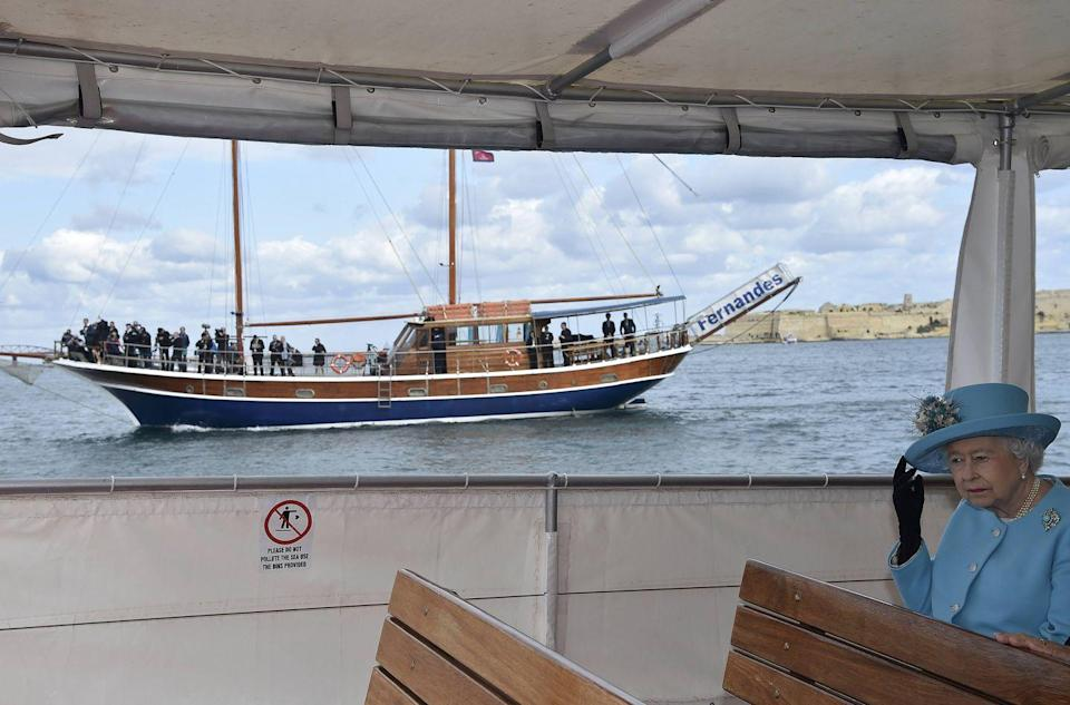 <p>The Queen has a ship named after her, so the bar is high to impress her.</p>