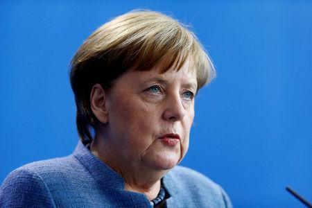 She failed to directly name the no-go areas that she was specifically referring to (REUTERS/Hannibal Hanschke)