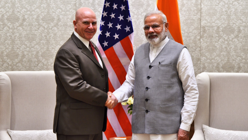 US NSA McMaster Meets PM Modi, Discusses Defence Cooperation