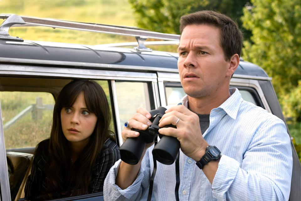 """A cool breeze is chilling for Zooey Deschanel and Mark Wahlberg in """"The Happening."""""""