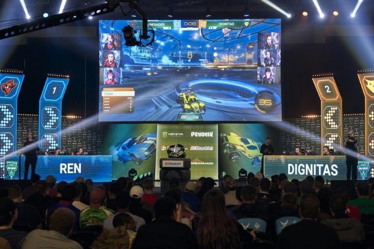 Rocket League is among the most popular games in corporate eSports leagues