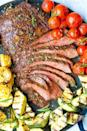 """<p>Looking for an unbelievably juicy steak recipe? We've got you covered.</p><p><strong>Get the recipe at <a href=""""https://damndelicious.net/2018/07/05/grilled-flank-steak-and-vegetables/"""" rel=""""nofollow noopener"""" target=""""_blank"""" data-ylk=""""slk:Damn Delicious"""" class=""""link rapid-noclick-resp"""">Damn Delicious</a>.</strong></p><p><strong><strong><strong><strong><strong><a class=""""link rapid-noclick-resp"""" href=""""https://go.redirectingat.com?id=74968X1596630&url=https%3A%2F%2Fwww.walmart.com%2Fip%2FPioneer-Woman-Slotted-Turner%2F910200136&sref=https%3A%2F%2Fwww.thepioneerwoman.com%2Ffood-cooking%2Fmeals-menus%2Fg32188535%2Fbest-grilling-recipes%2F"""" rel=""""nofollow noopener"""" target=""""_blank"""" data-ylk=""""slk:SHOP KITCHEN TOOLS"""">SHOP KITCHEN TOOLS</a></strong></strong></strong></strong></strong></p>"""