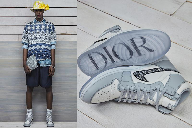 Dior's sneaker collaboration with Air Jordan