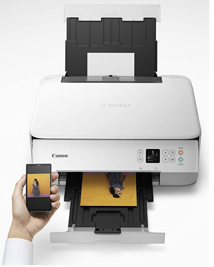Print your kids homework and notes with this all-in-one Canon printer. PHOTO: Amazon