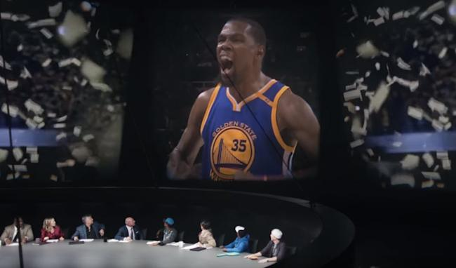 07a199f90cc Nike releases new commercial after Warriors  title slamming those ...