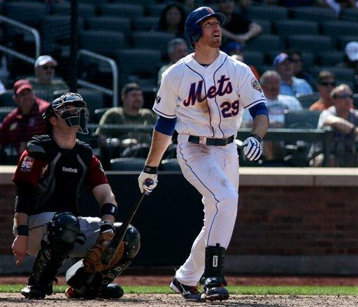 Davis' homer in 9th gives Mets win