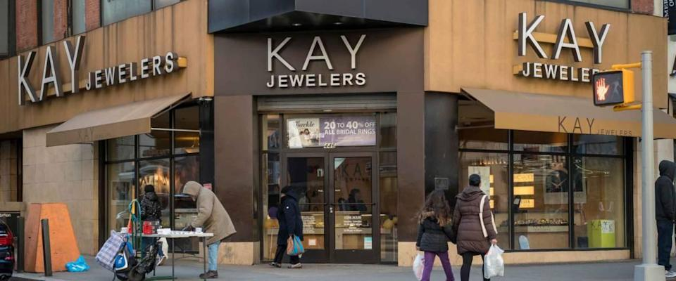New York NY/USA-March 18, 2018 Signet JewelerÕs Kay Jewelers in Downtown Brooklyn in New York