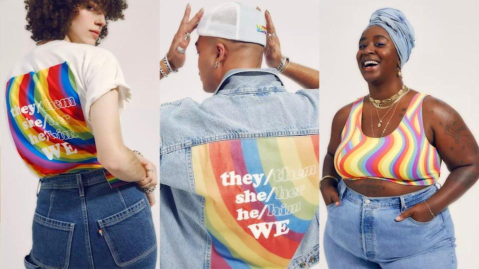 The All Pronouns All Love collection focuses on the importance of respecting pronouns and inspiring inclusivity for all.