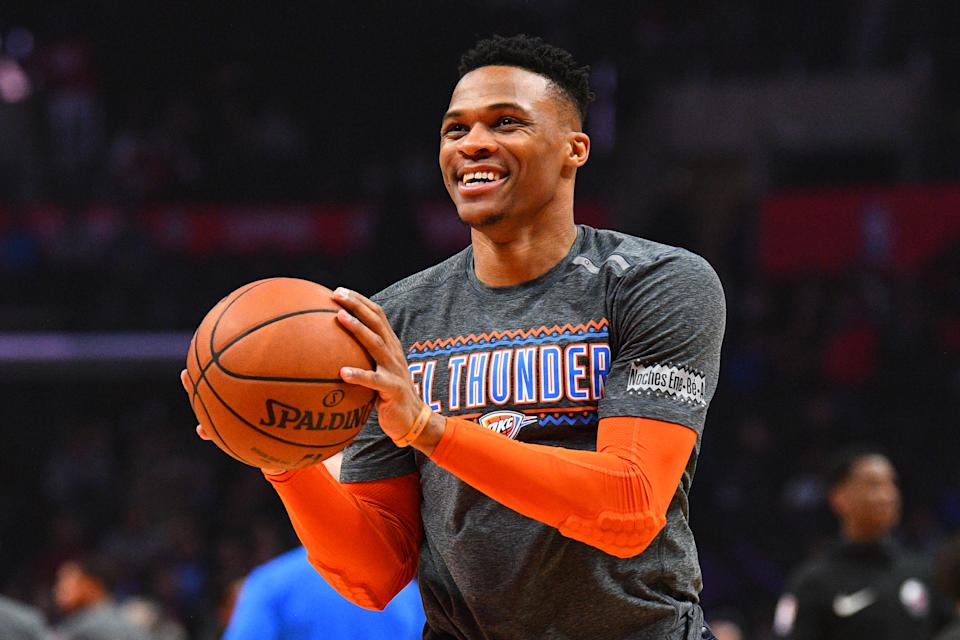 Russell Westbrook will be missed in Oklahoma City. (Getty)