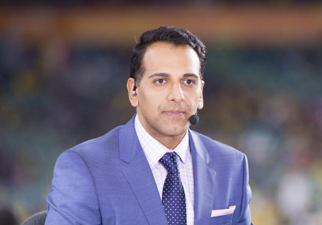 Adnan Virk denies leaking confidential ESPN information and is seeking a settlement with the network that fired him. (Getty)