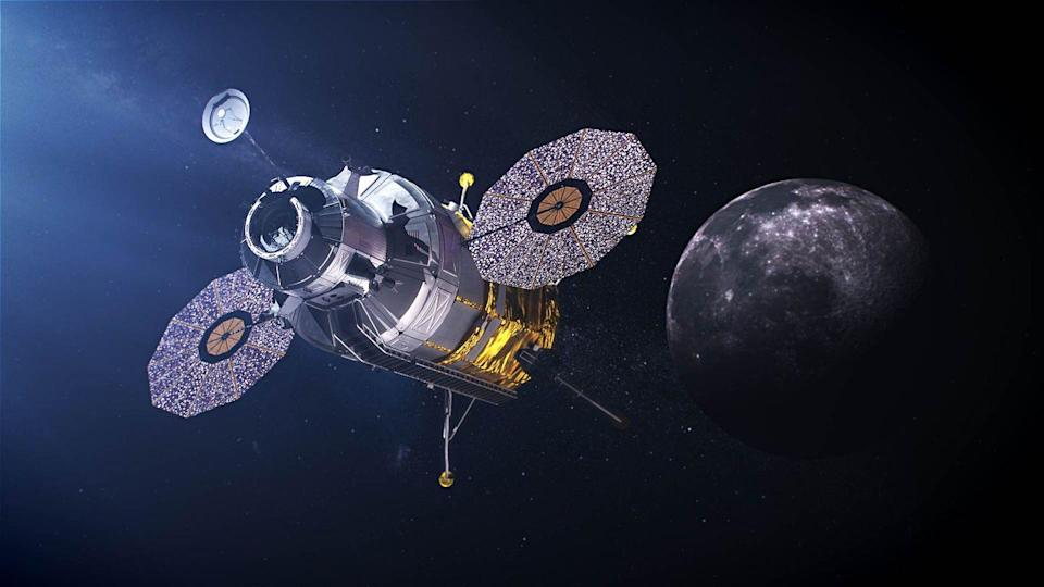 """<p>NASA announced that they plan to send the first woman and the next man back to the Moon by 2024. </p><p>The <a href=""""https://www.nasa.gov/what-is-artemis"""" rel=""""nofollow noopener"""" target=""""_blank"""" data-ylk=""""slk:Artemis mission"""" class=""""link rapid-noclick-resp"""">Artemis mission</a> will take astronauts to the Lunar South Pole to learn more about the availability of resources such as water and test vital technology that will prove useful during future missions to Mars. Another goal will be to, well, see how the human body endures long term space missions. They'll fly in the Orion spacecraft, which will be powered by the Agency's SLS rockets.</p><p>In essence, it's practice for Mars. </p>"""